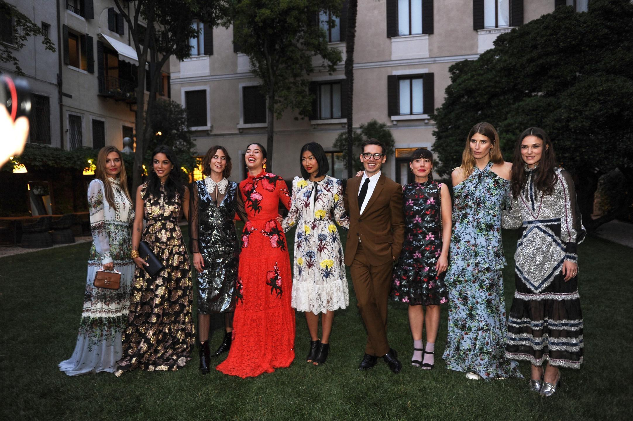 MyTheresa for Erdem Dinner