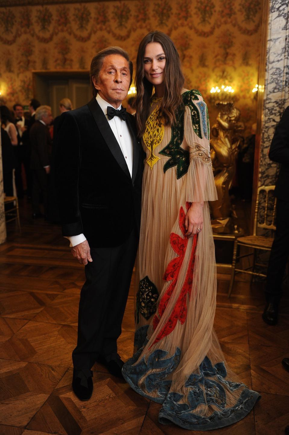 Gala Dinner hosted by Valentino Garavani to celebrate La Traviata