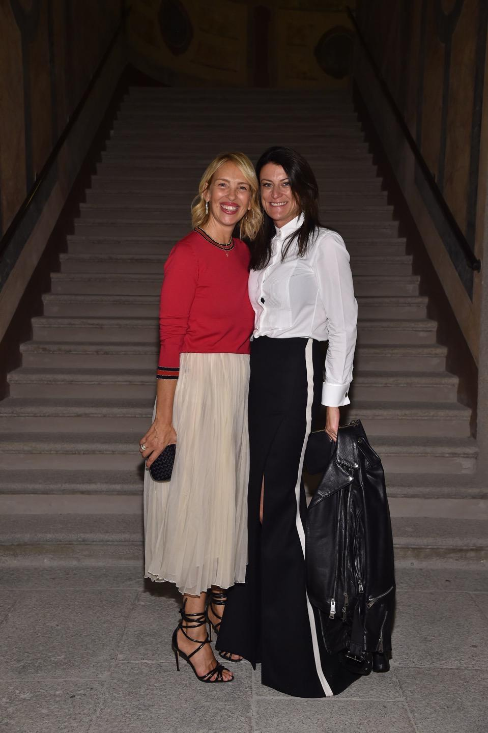 Alexandre Birman and Antonia exclusive dinner to celebrate Alexandre Birman's first time at the Milan Fashion Week
