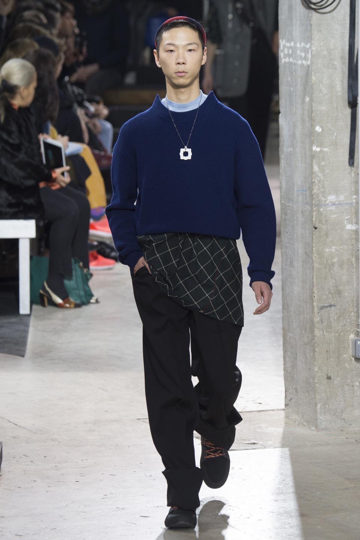 Lanvin Menswear Fall 2017