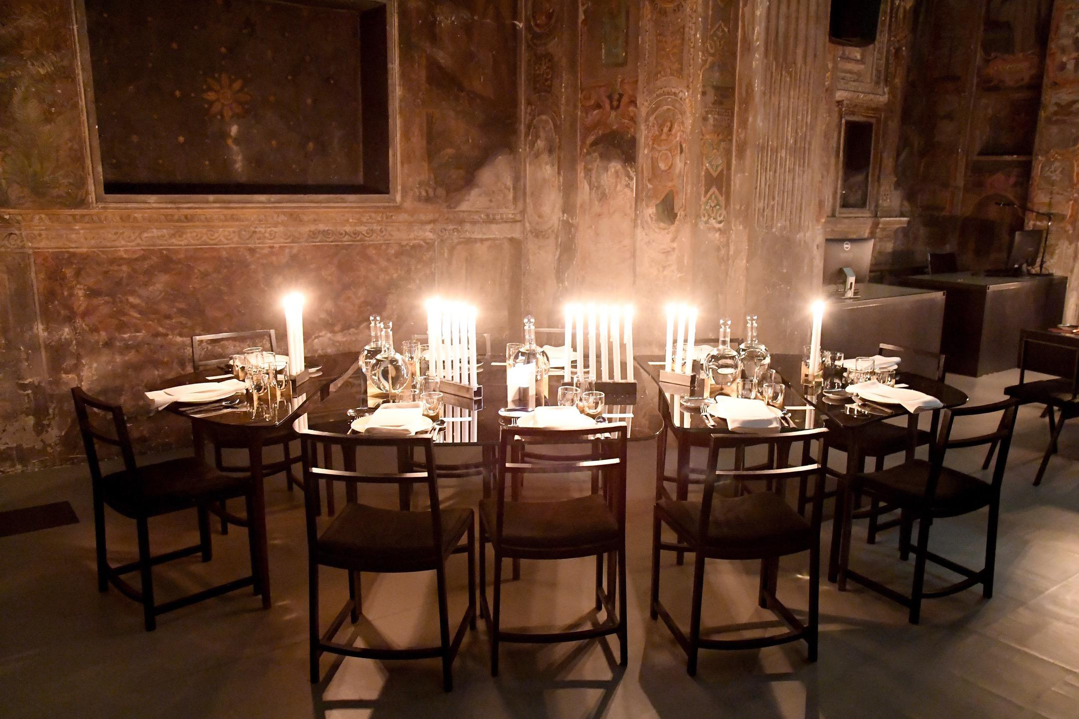 David Yurman dinner to celebrate the Men's Collection Exhibition in Partnership with Anthony James