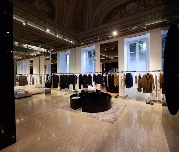 Salle Privèe Milan Showroom Opening