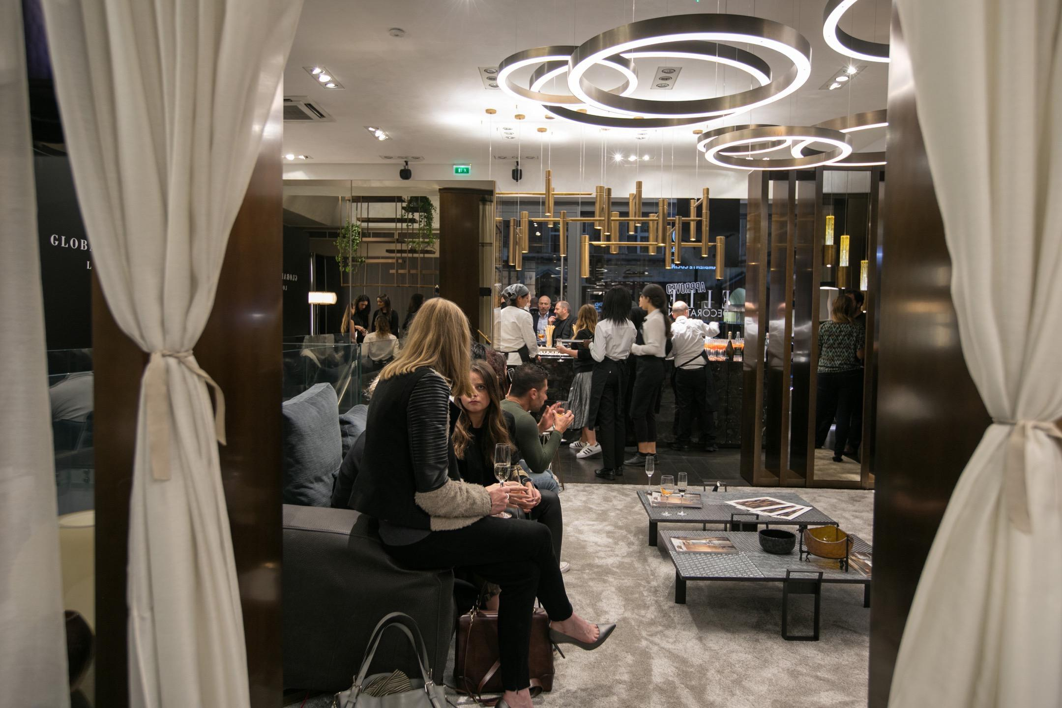 Henge and Elle Decoration UK cocktail to celebrate the London Design Week
