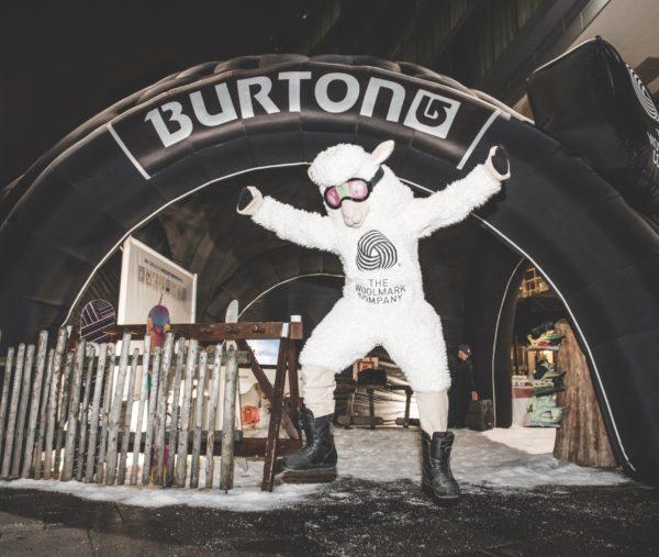 The Woolmark Company for Burton