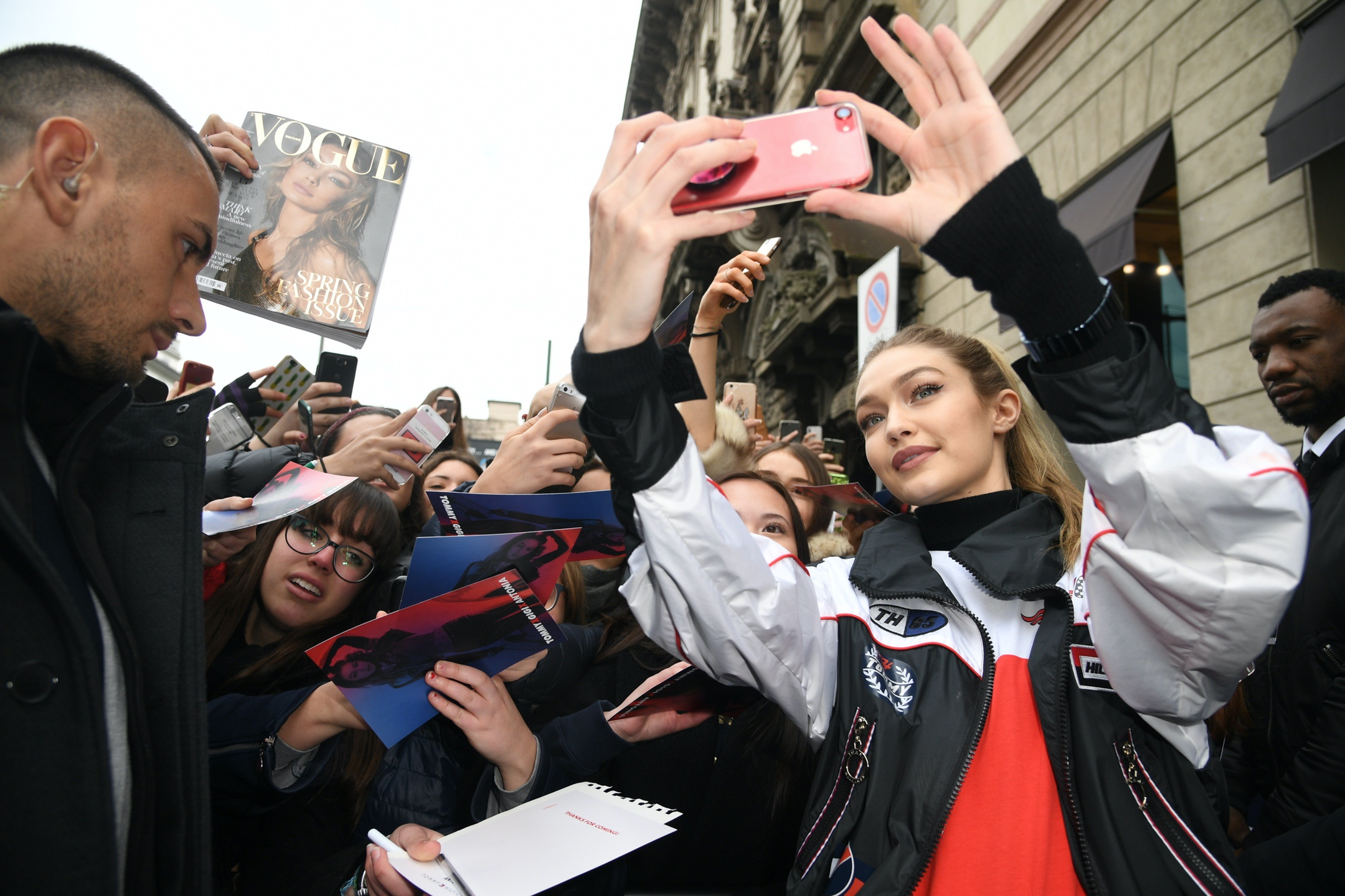 Gigi Hadid Personal Appearance at Antonia